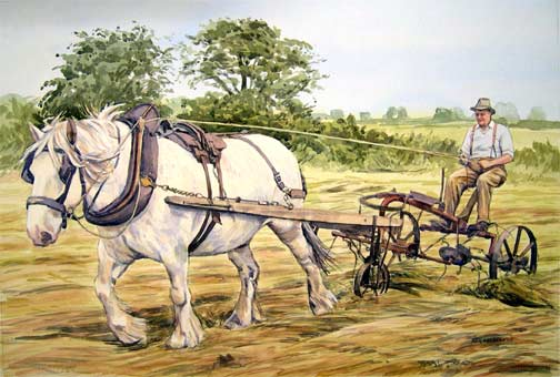 13horsehaymaking1950stylecommission