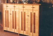Storage Cabinet in solid European Oak