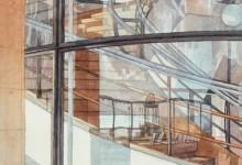 De la Warr Pavilion Reflections, Bexhill on Sea (NC113)