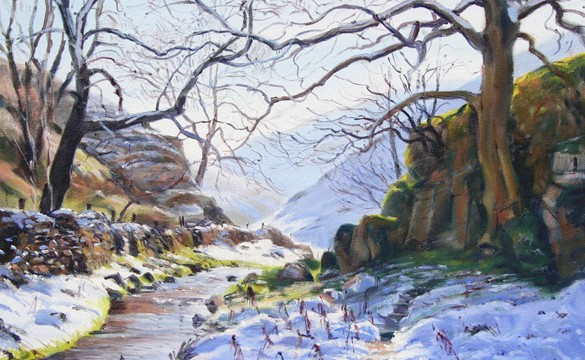 November Snow, Biggin Dale (NC144)