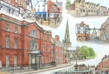 Five Views of Ashbourne, Derbyshire (NC46)
