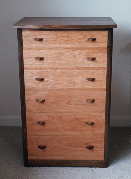 walnutcherrychestdrawers