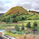 Chrome Hill from the River Dove (NC177)