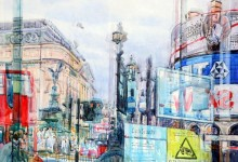 Reflections of Piccadilly Circus (NC222)