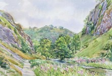 The River Dove below Ravens Tor, Dovedale (NC251)