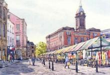 Chesterfield Market Place, Derbyshire (NC255)
