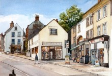 Wirksworth Market Place and Crown Yard (NC28)