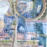 Window Reflections, Hayfield (NC298)