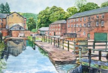 Arkwright's Mill, Cromford (NC98)