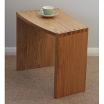 Dove-table 'classic' in solid oak