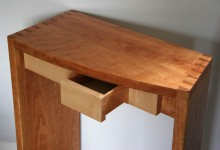 Tall Dove-table with drawers