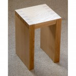 Small Square Dove-table