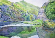 Late Summer Reflections, Dovedale (NC 325)