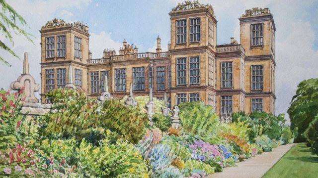 Hardwick Hall Gardens, Derbyshire (NC 353)