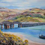 Barmouth Viaduct, Wales (NC 355)