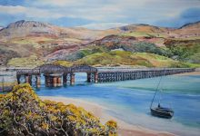 Barmouth Viaduct, Wales