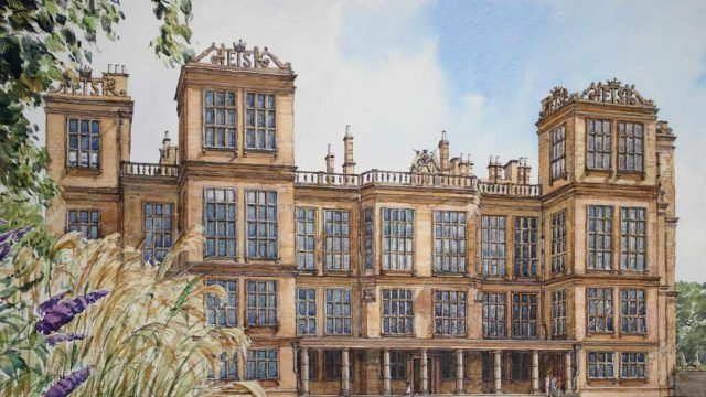 Hardwick Hall, Derbyshire (NC 359)
