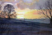 November Sunset over Ashbourne (NC 345)